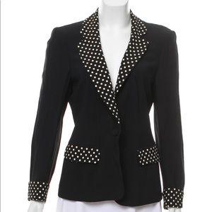 Moschino Couture Polka Dot Blazer